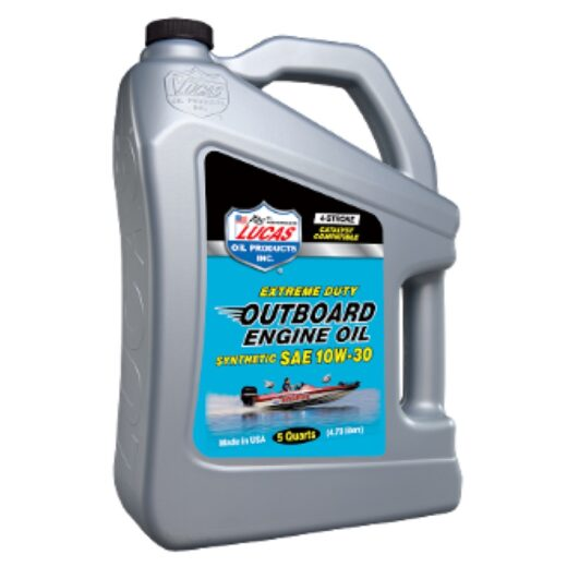10812 LUCAS SYNTHETIC SAE 10W-30 OUTBOARD ENGINE OIL (3 X 5 QT Case)