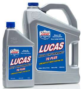 70 WT PLUS RACING OIL - 2.5 Gallon