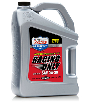HIGH PERFORMANCE RACING ONLY MOTOR OIL 0W-10 5 Quart