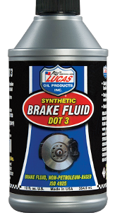 LUCAS DOT 3 BRAKE FLUID (12 oz - Case)