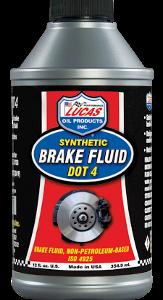 LUCAS DOT 4 BRAKE FLUID (12 Bottle Case)