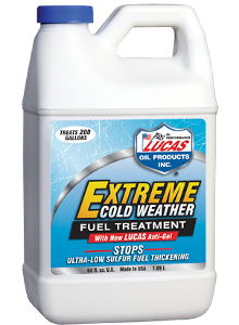LUCAS EXTREME COLD TEMPERATURE FUEL TREATMENT