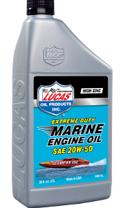 LUCAS EXTREME DUTY MARINE SAE 20W-50 ENGINE OIL (6 Quart Case)
