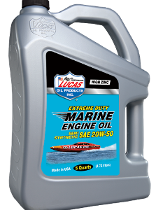 LUCAS EXTREME DUTY MARINE SEMI SYN 20W-50 ENG OIL (3x5 Qt Case)