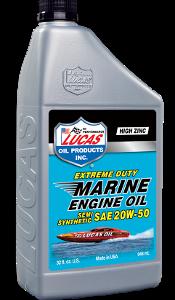 LUCAS EXTREME DUTY MARINE SEMI SYN 20W-50 ENGINE OIL (6 Qt Case)