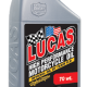 LUCAS HIGH PERFORMANCE MOTORCYCLE OILS NON-SYN 70WT (6 Qt Case)
