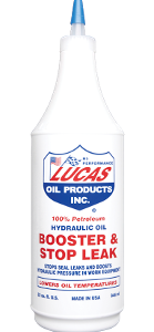 LUCAS HYDRAULIC OIL BOOSTER & STOP LEAK ( 12 Quart Case)