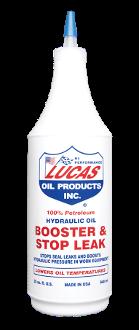 LUCAS HYDRAULIC OIL BOOSTER & STOP LEAK ( 12 Quart Case)