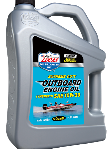 LUCAS SYNTHETIC SAE 10W-30 OUTBOARD ENGINE OIL (3 X 5 QT Case)