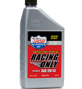 SEMI-SYNTHETIC RACING ONLY MOTOR OIL 20W-50 Quart