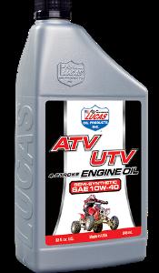SEMI SYNTHETIC SAE 10W-40 ATV ENGINE OIL (6 Quart Case)