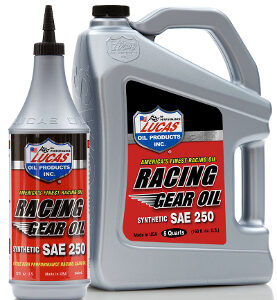 SYNTHETIC SAE 250 RACING GEAR OIL