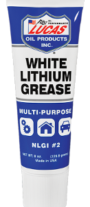 WHITE LITHIUM GREASE (10 x 8oz. Case)