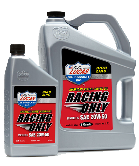 HIGH PERFORMANCE RACING ONLY MOTOR OIL 0W-20 2.5 Gallon
