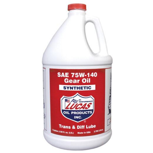 10122 LUCAS SAE 75W-140 SYNTHETIC GEAR OIL