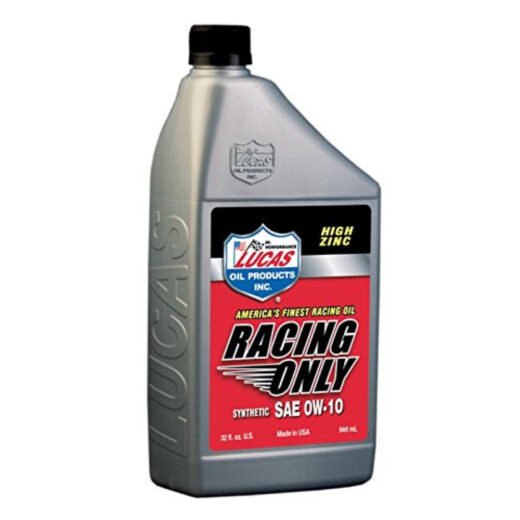 10286 HIGH PERFORMANCE RACING ONLY MOTOR OIL 0W-10 Quart