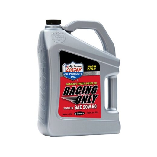 10616 RACING ONLY MOTOR OIL 0W-10 5 Quart