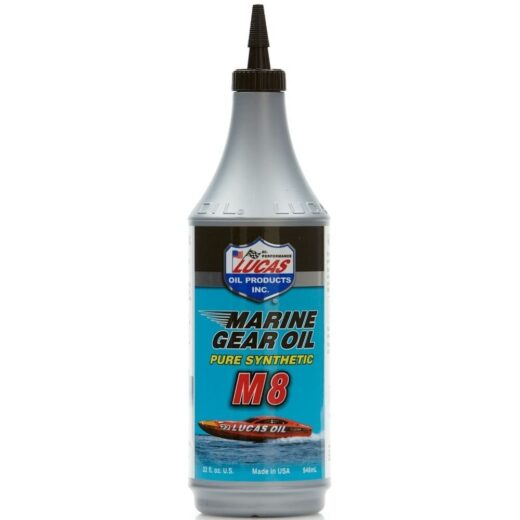 10652 LUCAS SYNTHETIC SAE 75W-90 M8 MARINE GEAR OIL