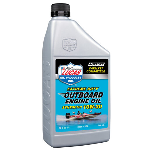 10661 LUCAS SYNTHETIC SAE 10W-30 OUTBOARD ENGINE OIL (6 Quart Case)