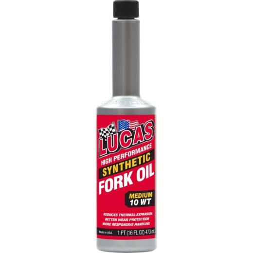10772 SYNTHETIC FORK OIL 10 WT (12 X 16oz. Bottle Case)