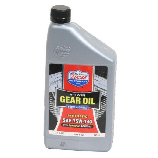 10791 LUCAS SYNTHETIC SAE 75W-140 GEAR OIL (6 Quart Case)