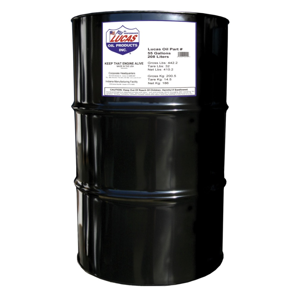 Lucas syn high perf mtr oil 0w 20 55 gall drm bass edge for Heavy weight motor oil