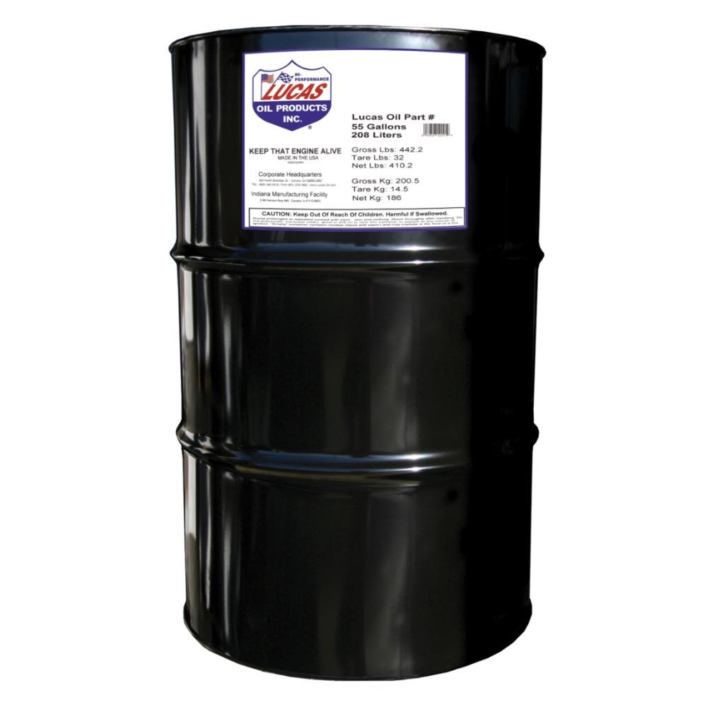 Lucas syn high perf mtr oil 0w 20 55 gall drm bass edge for 55 gallon drum motor oil