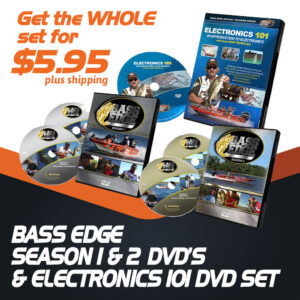 Bass Edge Season 1 & 2 DVD Set with Electronics 101 DVD